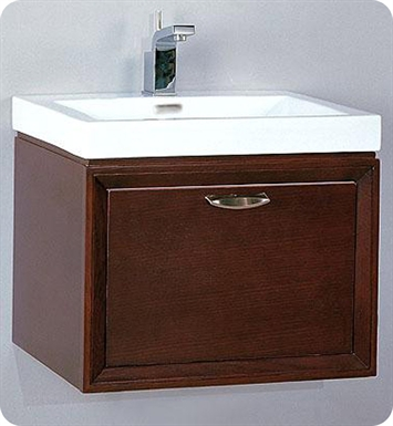 "Fairmont Designs 110-WV21 Caprice 21"" Wall Mount Modern Bathroom Vanity and Sink Set"