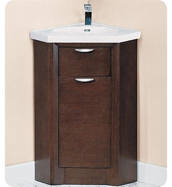 "Fairmont Designs 110-CV26 Caprice 26"" Corner Modern Bathroom Vanity and Sink Set"