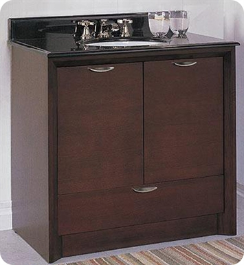 "Fairmont Designs Caprice 36"" Modern Bathroom Vanity"