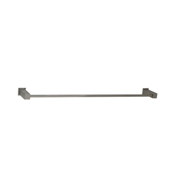 "Santec 2861EM15 24"" Towel Bar With Finish: Satin Chrome <strong>(USUALLY SHIPS IN 1-2 WEEKS)</strong>"