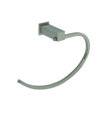 Santec 2864EM88 Towel Ring With Finish: Bright Pewter <strong>(USUALLY SHIPS IN 2-4 WEEKS)</strong>