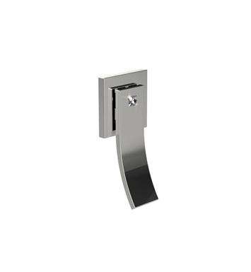 Santec YY-CR15 Ava Crystal CR Style Wall Mount Volume Control Trim With Finish: Satin Chrome <strong>(USUALLY SHIPS IN 1-2 WEEKS)</strong>