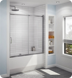 Fleurco Banyo Shuttle Tub Semi Frameless In Line Sliding Tub Door