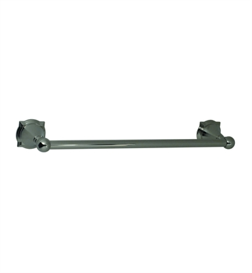 "Santec 4662BR88 Baroque 18"" Towel Bar With Finish: Bright Pewter <strong>(USUALLY SHIPS IN 2-4 WEEKS)</strong>"