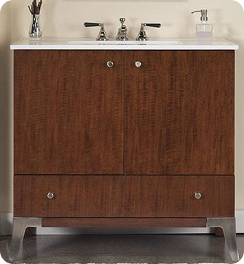 "Fairmont Designs 140-V36 Concorde 36"" Modern Bathroom Vanity"