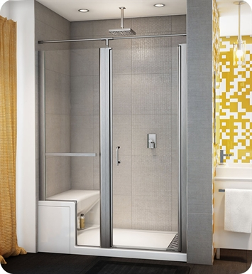 Fleurco Alessa-EUA58 Banyo Sevilla In Line Door and Panel (Alessa Base and Seat Optional)