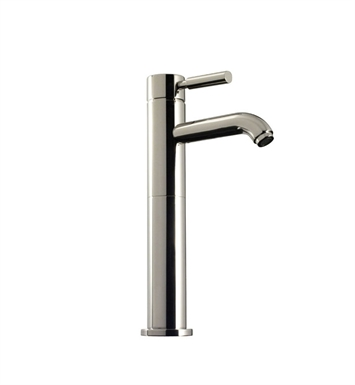 Santec 2681EK80 Caprie Extended Single Lever Bathroom Faucet with EK Style Handle With Finish: Standard Pewter <strong>(USUALLY SHIPS IN 2-4 WEEKS)</strong>