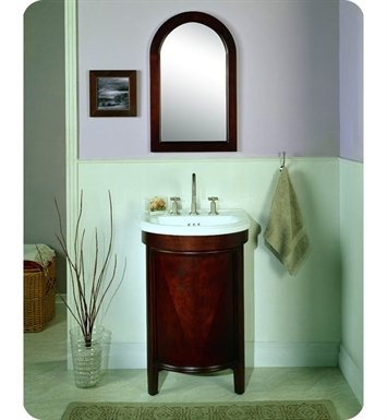 "Fairmont Designs 148-V23 Contour 23"" Modern Bathroom Vanity, Sink, Mirror Combo"