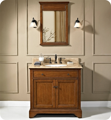 "Fairmont Designs 1501-V36 Framingham 36"" Modern Bathroom Vanity in Vintage Maple"