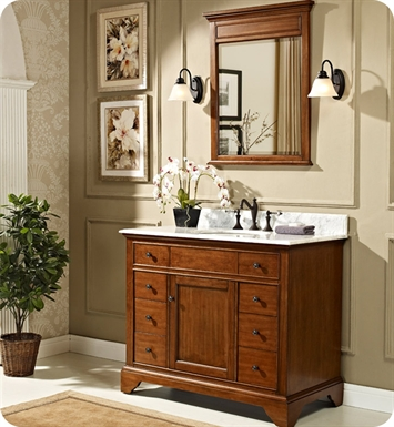 "Fairmont Designs 1501-V42 Framingham 42"" Modern Bathroom Vanity in Vintage Maple"