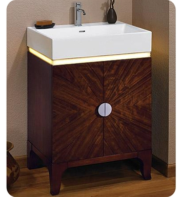 "Fairmont Designs 132-VS24LED Half Moon Bay 24"" Modern Bathroom Vanity (with LED)"