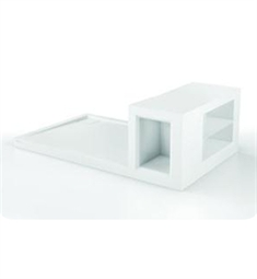 Fleurco Urbana Shower Base with Seat