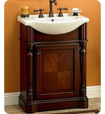 "Fairmont Designs Manor 26"" Traditional Bathroom Vanity and Sink Set"