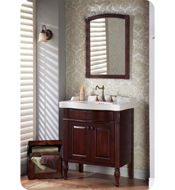 "Fairmont Designs 192-V32 Maui 32"" Traditional Bathroom Vanity, Sink, Mirror Combo"