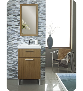 "Fairmont Designs 176-V21 Metropolitan 21"" Modern Bathroom Vanity and Sink Set in Teak"