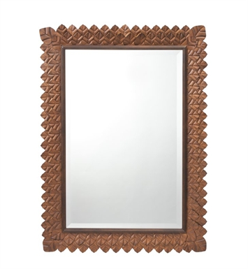 "Kichler 78166 Keaton 39"" High Rectangular Portrait Mirror"