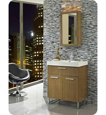"Fairmont Designs 176-V30 Metropolitan 30"" Modern Bathroom Vanity and Sink Set in Teak"