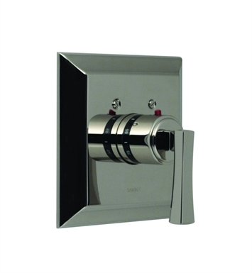 Santec 7093ED91-TM Edo ED Style Thermostatic Control Handle with Trim Plate With Finish: Wrought Iron <strong>(USUALLY SHIPS IN 2-4 WEEKS)</strong> And Configuration: Trim Only