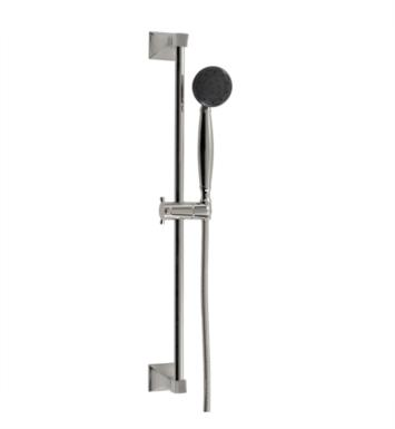 "Santec 92846080 #6 Personal Shower with #6 Slide Bar (Slide Bar 27 Inch Long, Hose 57"" Long, 3-Function Sprayer) Supply Elbow Not Included With Finish: Standard Pewter <strong>(USUALLY SHIPS IN 4-5 WEEKS)</strong>"