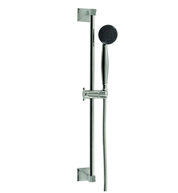 Santec 92846088 Edo Multi Function Personal Shower With Slide Bar With Finish: Bright Pewter <strong>(USUALLY SHIPS IN 2-4 WEEKS)</strong>