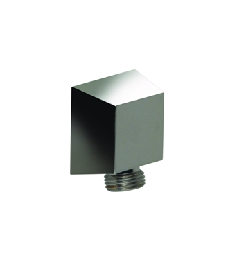 Santec 9289ED10 Edo Supply Elbow With Square Base With Finish: Polished Chrome <strong>(USUALLY SHIPS IN 1-2 WEEKS)</strong>