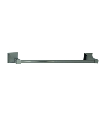 "Santec 9262ED80 Edo 18"" Towel Bar With Finish: Standard Pewter <strong>(USUALLY SHIPS IN 2-4 WEEKS)</strong>"