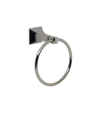 Santec 9264ED15 Edo Towel Ring With Finish: Satin Chrome <strong>(USUALLY SHIPS IN 4-5 WEEKS)</strong>