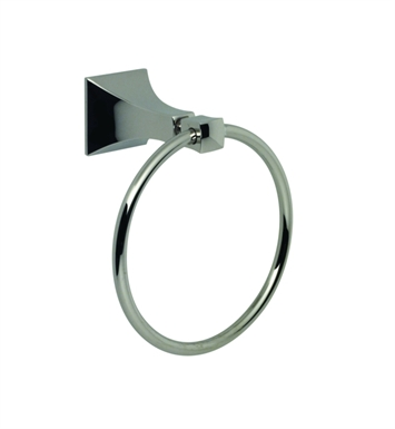 Santec 9264ED10 Edo Towel Ring With Finish: Polished Chrome <strong>(USUALLY SHIPS IN 1-2 WEEKS)</strong>