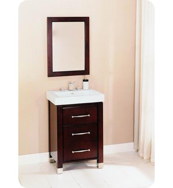 Fairmont designs 145 v2418b midtown 24 modern bathroom for Espresso vanity bathroom ideas