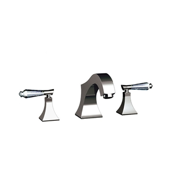 Santec 9250DC91 Edo Crystal Roman Tub Filler Set with DC Style Handles With Finish: Wrought Iron <strong>(USUALLY SHIPS IN 2-4 WEEKS)</strong>