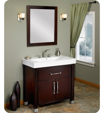 "Fairmont Designs 145-V36 Midtown 36"" Modern Bathroom Vanity and Sink Set in Espresso"