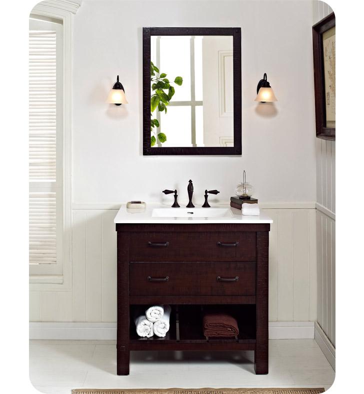 "Fairmont Designs 1506 VH36 Napa 36"" Open Shelf Modern"