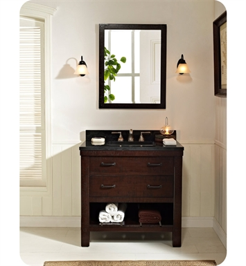 "Fairmont Designs 1506-VH36 Napa 36"" Open Shelf Modern Bathroom Vanity"