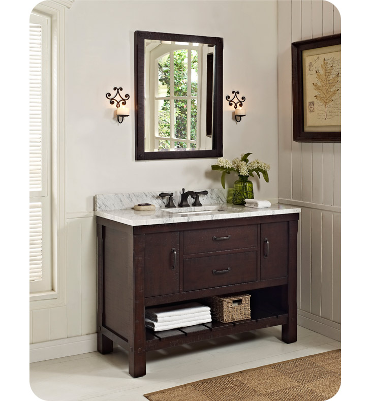 Fairmont Designs 1506 Vh48 Napa 48 Quot Open Shelf Modern