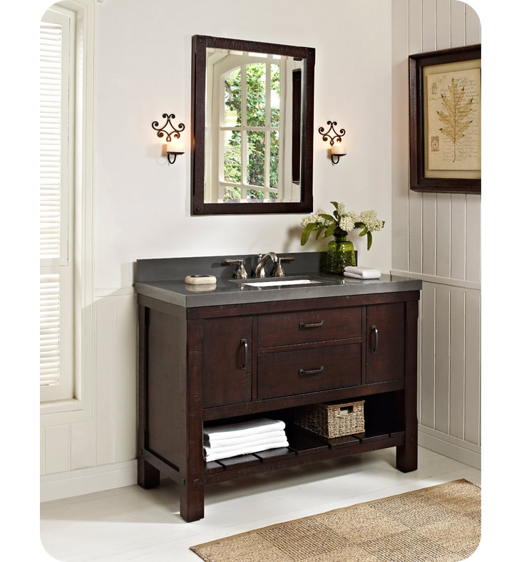 Fairmont Designs 1506 VH48 Napa 48 Open Shelf Modern Bathroom Vanity