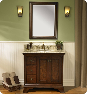 "Fairmont Designs 159-V36L Newhaven 36"" Modern Bathroom Vanity with Left Drawer"