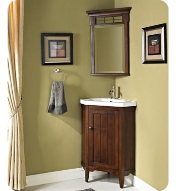 "Fairmont Designs 169-CV26 Prairie 26"" Corner Modern Bathroom Vanity and Sink Set"