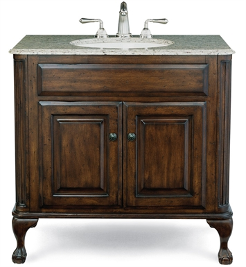 "Cole+Co 12.11.275237.01.EST [INACTIVE]Estate 37"" Large Antique Bathroom Vanity from Custom Collection"