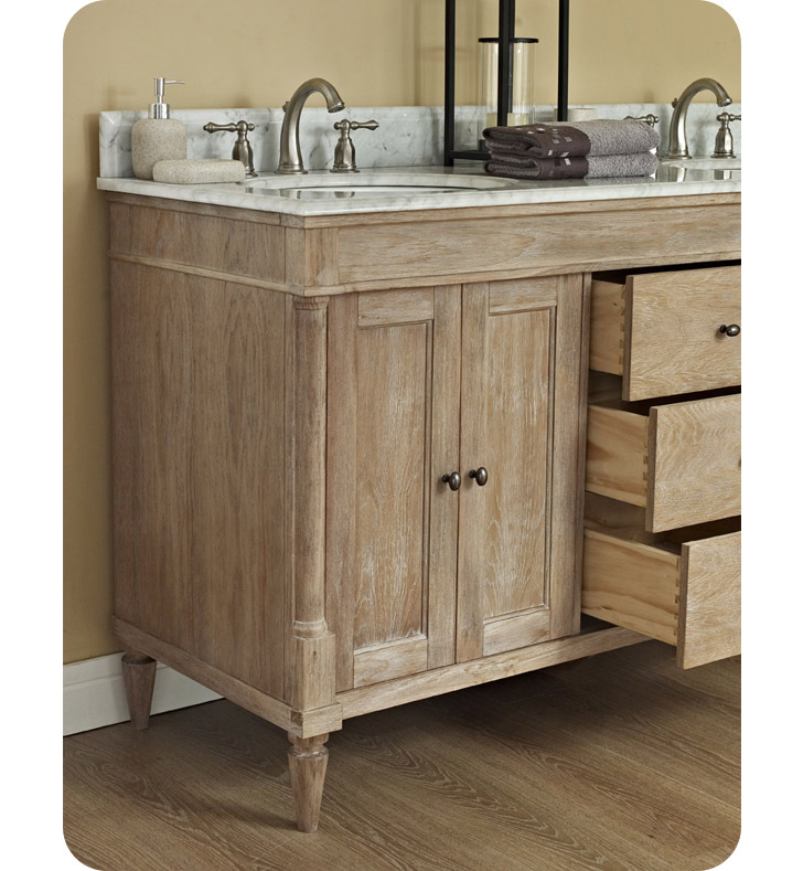 Fairmont Designs 142 V6021d Rustic Chic 60 Modern Bathroom Vanity Double Bowl