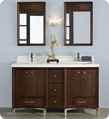 "Fairmont Designs 152-V30_DB1221_V30 Seascape 72"" Modular Modern Bathroom Vanity"