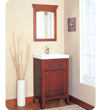 "Fairmont Designs 125-V21 Shaker 21"" Modern Bathroom Vanity and Sink Set in Dark Cherry"