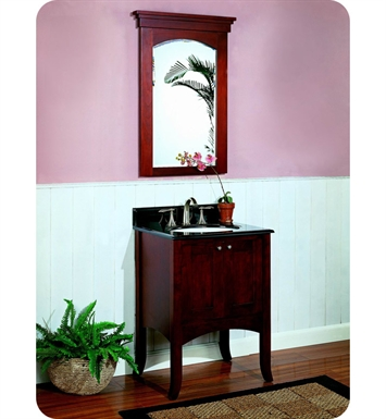 "Fairmont Designs 125-24 Shaker 24"" Modern Bathroom Vanity in Dark Cherry"