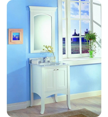 "Fairmont Designs 185-24 Shaker 24"" Modern Bathroom Vanity in Polar White"