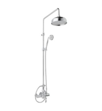 Rohl AKIT49171ELM-STN Country Bath Exposed Thermostatic Shower Package with Single Function Showerhead