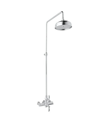 Rohl AKIT49172LM-PN Viaggio Exposed Thermostatic Shower Package With Finish: Polished Nickel And Handles: Metal Lever Handles