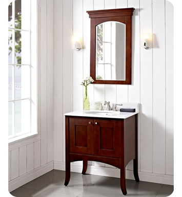 "Fairmont Designs 125-30 Shaker 30"" Modern Bathroom Vanity in Dark Cherry"
