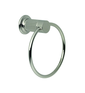 Santec 3664EN50 Enzo Towel Ring With Finish: Polished 24K Gold <strong>(USUALLY SHIPS IN 2-4 WEEKS)</strong>
