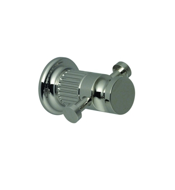 Santec 3666EN15 Enzo Two Point Robe Hook With Finish: Satin Chrome <strong>(USUALLY SHIPS IN 1-2 WEEKS)</strong>