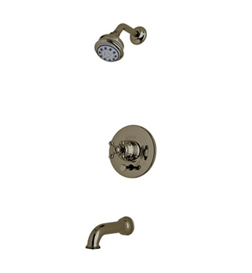 Rohl ACKIT21X-TCB Cisal Arcana Shower Package With Cross Handle in Tuscan Brass