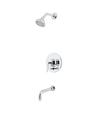Rohl LOKIT21LM-STN Avanti Shower Package With Finish: Satin Nickel And Handles: Metal Lever Handles